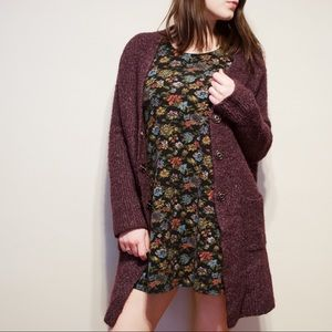 Urban Outfitters Purple Cardigan